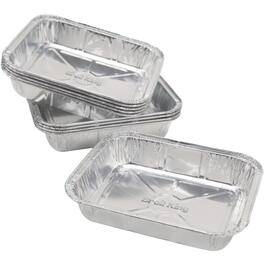 "10 Pack 6"" x 4.75"" Barbecue Aluminum Foil Drip Pans thumb"