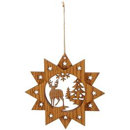 "5.5"" Animal Wood Ornament, Assorted Styles thumb"
