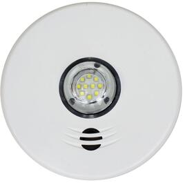 Integrated Talking Smoke Detector, with LED Strobe Light thumb