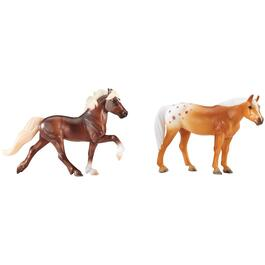 3 Piece Mystery Foal Horse Playset, Assorted Horses thumb
