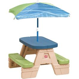 Childs Picnic Table, with Umbrella thumb