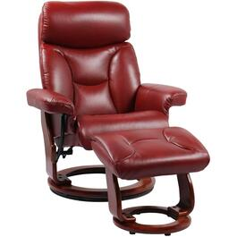 Ruby Emmie II Recliner, with Ottoman thumb