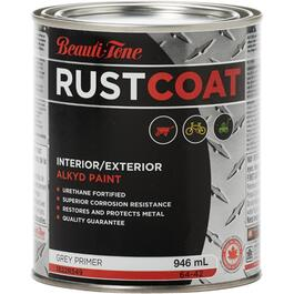 946mL Grey Alkyd Rust Primer thumb