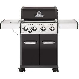 Baron 440 4 Burner + 1 Inset Side Burner 644 sq. in. 40,000BTU Propane Barbecue thumb
