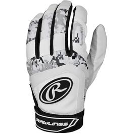 1 Pair of Large Adult Batting Gloves thumb