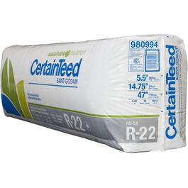 "R22 x 14.75"" Fiberglass Insulation, covers 48.14 sq. ft. thumb"