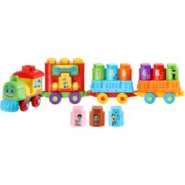 English Version LeapBuilders Train Playset thumb
