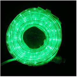 15' Green LED Round Ropelight thumb