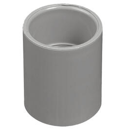 "1-1/2"" PVC Conduit Coupling thumb"