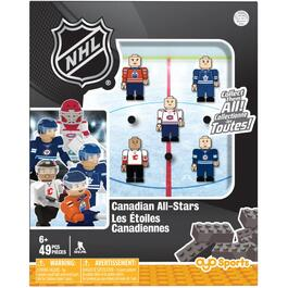 5 Pack Canadian All-Stars Figures thumb