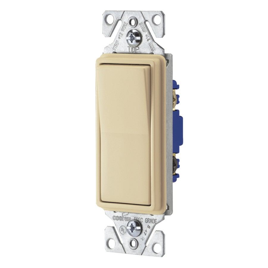 10 Pack White 3 Way Decora Light Switches Home Hardware Cooper Switch 3way Ivory