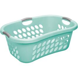 44L Aqua Hip-Hugger Laundry Basket thumb