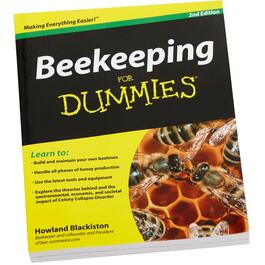 Beekeeping For Dummies How To Book thumb