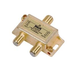 2-Way 2.4Ghz Satellite Coax Splitter thumb