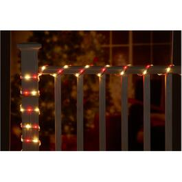 16.4' 120 Light Red/Green/Blue/White LED Tapelight, with Remote thumb
