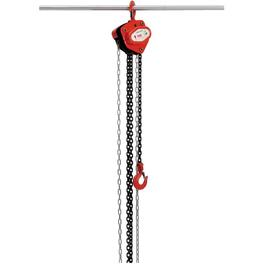 1 Ton 10' Safe Working Load Chain Hoist thumb