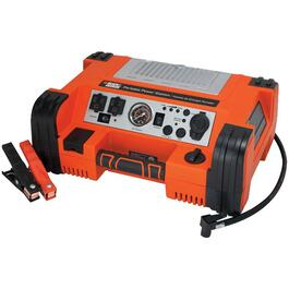 Heavy Duty Portable Power Station, with Jump Starter and Compressor thumb