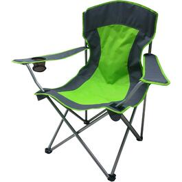 Green/Grey Adult Camping Chair thumb