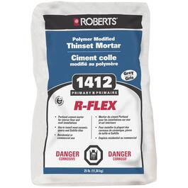 25lb Grey Polymer Modified R-Flex Thinset Tile Mortar thumb