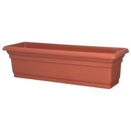 "24"" Terra Cotta Distinction Window Planter thumb"