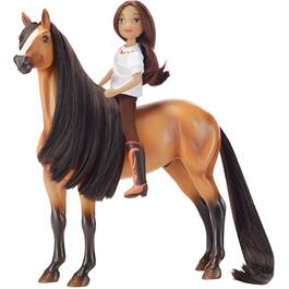 Spirit and Lucky Horse and Rider Playset thumb
