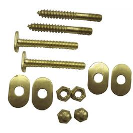 "1/4"" x 2-1/2"" Toilet Screw Set with Bolts thumb"