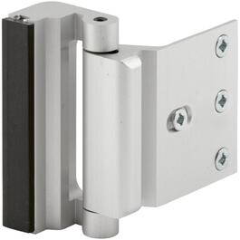 Satin Nickel Door Reinforcement Lock thumb