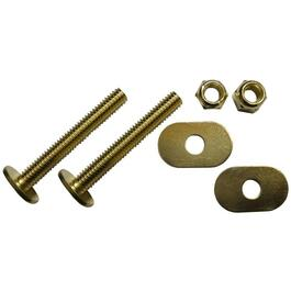 "5/16"" x 2.25"" Brass Plated Toilet Bolt Set thumb"