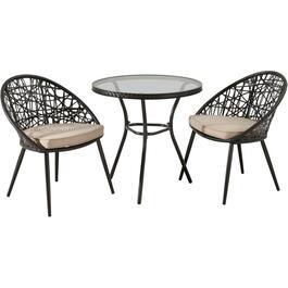 3 Piece Montauk Chat Set, with Cushion thumb