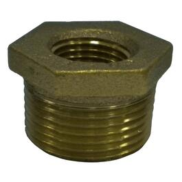 "1/2"" x 1/8"" Reducing Brass Bushing thumb"