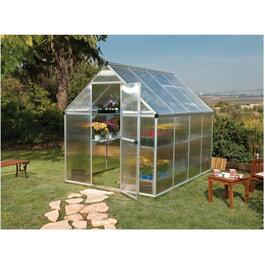 6' x 8' Twin Wall Mythos Greenhouse thumb