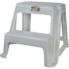 2-Step White Roughneck Step Stool thumb