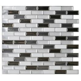 "9.375"" x 10.50"" Murano Metalik Peel and Stick Tile thumb"