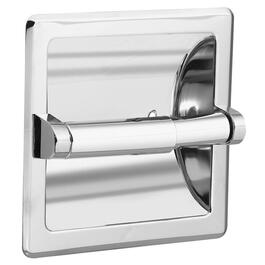 Chrome Recessed Toilet Paper Holder thumb
