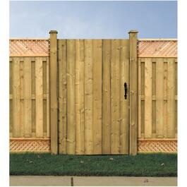 6' Pressure Treated Jasper Gate Fence Package thumb