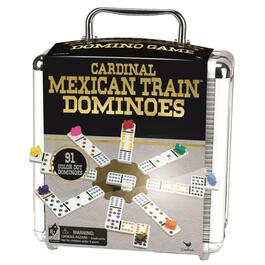 Mexican Train Dominoes, with Case thumb