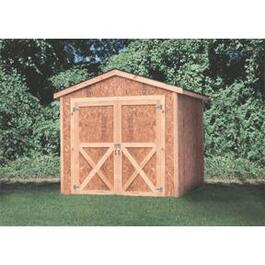 8' x 8' Basic Gable Shed Package, with Truss thumb