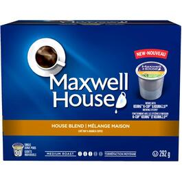 30 Pack Single Serve Maxwell House Blend Medium Roast Coffee Cups thumb