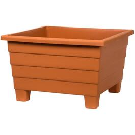 "16"" Terracotta Square Futura Patio Planter thumb"