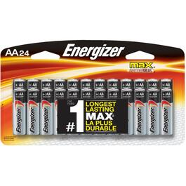 24 Pack Max Alkaline AA Batteries thumb
