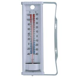 "9"" Aluminum Window Thermometer thumb"