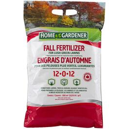 7kg 12-0-12 Fall Fertilizer thumb