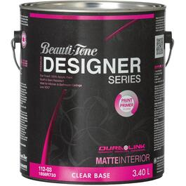 3.40L Clear Base Matte Finish Interior Latex Paint thumb