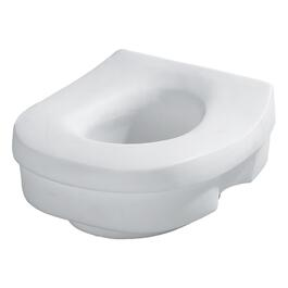 "Raised 5"" Plastic Toilet Seat thumb"