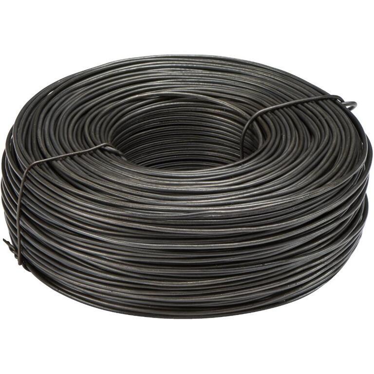 3-1/8lb x 16.5 Gauge Black Rebar Tie Wire - Home Hardware