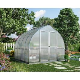 8' x 8' Silver Bella Greenhouse thumb