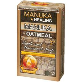 120g All Natural Manuka Honey & Oatmeal Bar Soap thumb