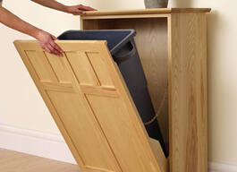 Bin Cabinet for Waste or Recyclables thumb