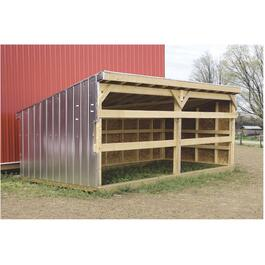 8' x 16' Calf Shelter Package thumb