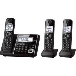 3 Pack Dect 6.0 Cordless Answerphones thumb
